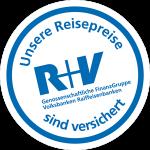 Unsere Reisepreise sind versichert - R+V - Genossenschaftliche FinanzGruppe Volksbank Raiffeisenbank